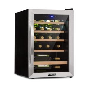 Vinamour 19, sticle de vin, 19 fl., 65 l, 4 - 18 °C, 39 dB, sticlă, negru