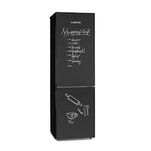 Miro XL, chladnička s mrazničkou, 177/74 l, A+, tabulová přední část, černá