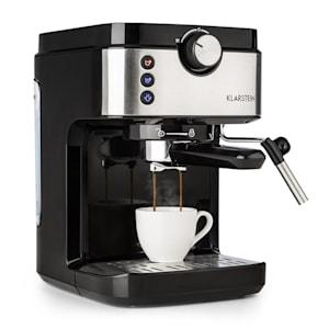BellaVita Espresso Cafetière expresso 20 bars 1575W 900 ml - argent