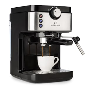 Klarstein BellaVita Espresso Cafetière expresso 20 bars 1575W 900 ml - argent