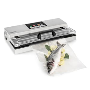 FoodLocker 650, vákuovač, 650 W, InstantSealing, ušľachtilá oceľ, strieborná