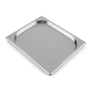 GN Behälter 1/2 Gastronomiebehälter Fettauffangschale | Zubehör für den Steakreaktor Pro | kompakte Größe | leicht zu reinigen | spülmaschinenfest | Edelstahl