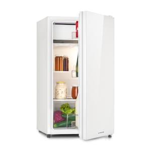 Luminance Frost Frigorífico | Capacidade: 91 litros | Classe de eficiência energética F | Compartimento gelado | 2 prateleiras de vidro | 3 compartimentos de portas | Ruído de funcionamento: 41 dB |  Ajuste de temperatura de 7 níveis