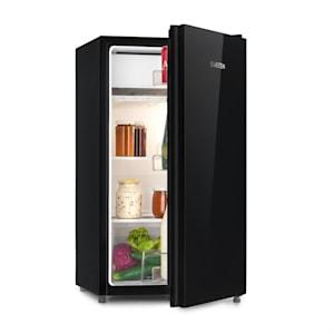 Luminance Frost, hűtőszekrény, 91 l, A+, zöldségtároló rekesz, 2 üvegpolc, fekete