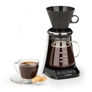 craft coffee balance Cafetière 0,6L verseuse en verre filtre - noire &