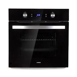 Gusteau, električna vgrajena pečica, 2950 W, 8 funkcij, črna