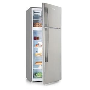 Jumbo Cool, kombinált hűtőszekrény fagyasztóval, 510 l, 7 hűtési fokozat, szürke