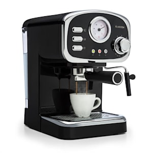 Espressionata Gusto, espresso кафе машина, 1100 W, налягане 15 бара, черна