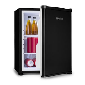 Nagano M, mini hűtőszekrény, 44 l, 0 dB,  0 - 8 °C, zajmentes, 56 cm, fekete