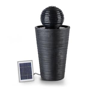 Liquitorre  XL Solar Fountain 200l / h Solar Panel 2W Battery LED Polyresin