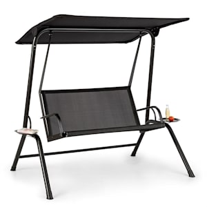 Bel Air Mono Swing hammock stålram mono relax svart
