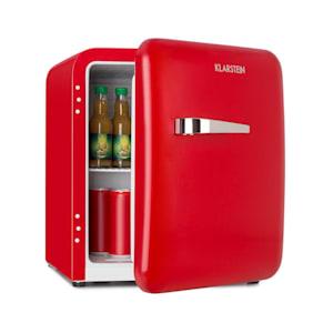 Audrey, mini retró hűtőszekrény, 48 l, 2 szint, A +, piros