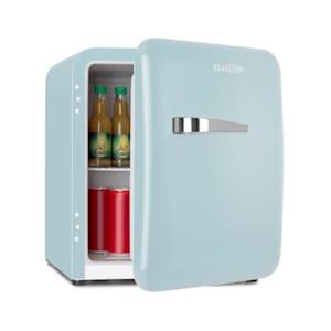 Audrey Mini réfrigérateur 48L 2 clayettes classe A+ look rétro bleu