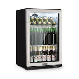 Beersafe Pro, chladnička, 133 l, sklené dvere, 2 vsuvné poličky, čierna