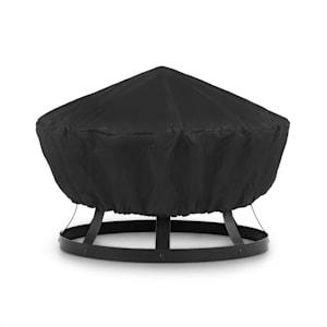 Pentos, pokrivač za zaštitu od vremenskih utjecaja, nylon 600d, nepremočiv, crni