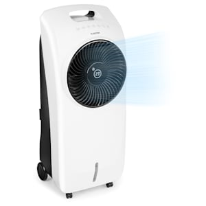 Klarstein Rotator Enfriador de aire 4 en 1 de 110W 396m³/h 3 intensidades Mando a distancia Blanco
