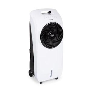 Rotator raffrescatore evaporativo 4 in 1 110W 396m³/h 3 velocità telecomando bianco