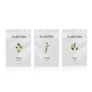 Klarstein GrowIt Seeds Europe | 3 pacchetti di semi: Timo / Salvia / Prezzemolo