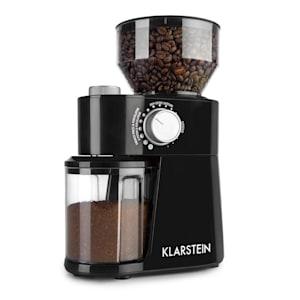 Florenz koffiemolen 200W roestvrij staal-maalschijven zwart