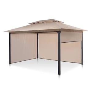 Grandezza Cortina Gartenpavillon 3x4m 4 Seitenteile beige