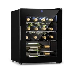 Shiraz Frigorifico para vinho 42l painel táctil 131W 5-18°C preto