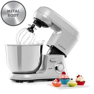 Bella Robusta Metal, konyhai robotgép, 1.200 W, 6 teljesítményfokozat, 5,5l, szürke
