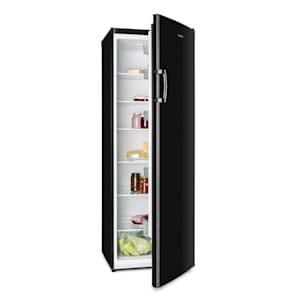 Bigboy, chladnička, 323 l, crisper priehradka, 6 úrovní, trieda energetickej účinnosti A+, čierna