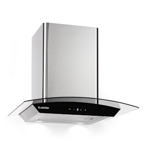 Eclipse Cooker Extractor Hood 600 m³ / h 3 Power Levels Stainless Steel Black