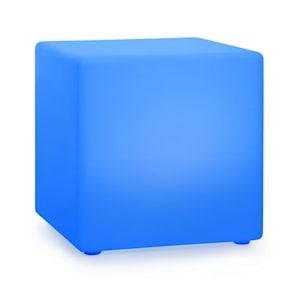 Shinecube XL Leuchtwürfel 40x40x40cm 16 Farben-LED 4 Licht-Modi weiß
