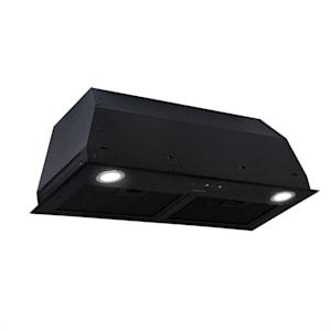 Paolo Cappa Aspirante da Incasso 72,5 cm Scarico: 600 m³/h LED nero