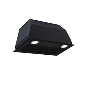 Paolo Cappa Aspirante da Incasso 52,5 cm Scarico: 600 m³/h LED nero