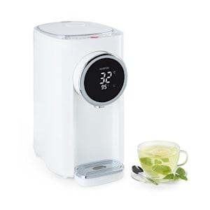Klarstein Hot Spring Plus Distributeur d'eau chaude 5 litres 45 à 95°C inox blan