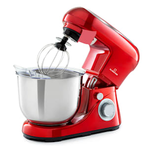 Bella Pico 2G Food Processor Mixer | 1200 W / 1.6 HP | 6 power levels | Pulse function | Planetary mixing system | 5 l stainless steel bowl | 3 pcs. Accessories: A mixing & dough hook made of die-cast aluminium and a stainless steel whisk | compact