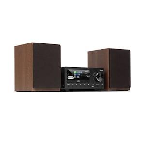 Connect System Stereoanlage 80W max. Internet/DAB+/ FM Radio CD-Player