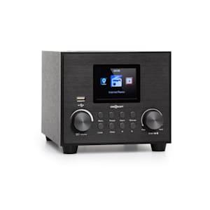 auna Streamo Cube radio internet 3W & 5W RMS WiFi BT nero