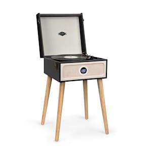 Sarah Ann DAB Plattenspieler 33/45/78 rpm DAB+/UKW-Radio Bluetooth schwarz