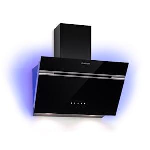 Klarstein Alina Extractor Hood 60cm 600 m³ / h LED Display Ambient Light Black