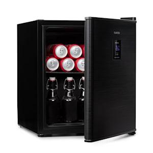 Beer Baron Getränkekühler A+ 46 Liter 39dB 0-10 °C schwarz