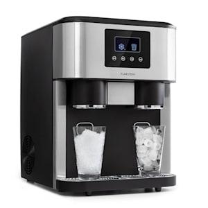 Eiszeit Crush Machine à glaçons 18kg/24h 2 tailles de cubes - Argent