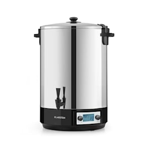 Klarstein KonfiStar 40 Digital konserveringsapparat dryckesdispenser 40L 2500 Watt 100°C 180min