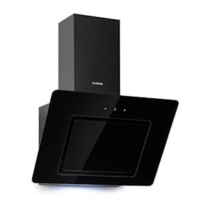 Sofia 60, kuhinjska napa, 300 m³/h, upravljačka ploča osjetljiva na dodir, staklena prednja strana, crna
