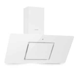 Sofia 90, digestor, 300 m³/h, dotykové ovládanie, sklenená predná strana, biely