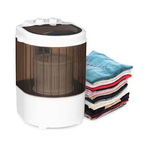 KKlarstein Dash Duo wasmachine 180W 2,5kg timer 0-15 min. schoenborstel zwart