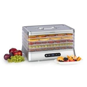 Silver droogautomaat 500W leddisplay zonder BPA 35-70°C zilver