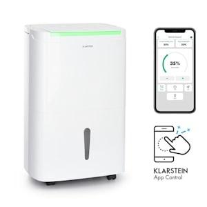 DryFy Connect 30, odvlhčovač vzduchu, Wi-Fi, kompresse, 30 l/d, 25–30 m², bílý