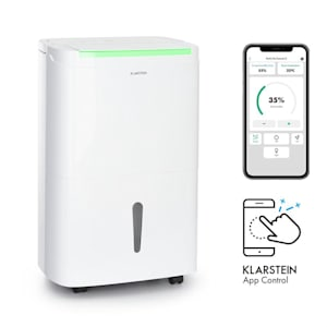 DryFy Connect 40 Luftentfeuchter WiFi Kompression 40l/d 35-45m² weiß