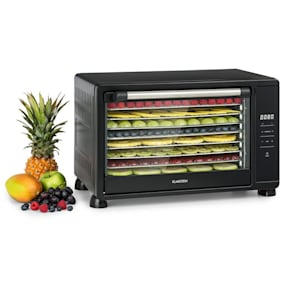 Mega Jerky Dehydrator 650W 35-80 ° C LC-Touch-Display 8 Levels Black