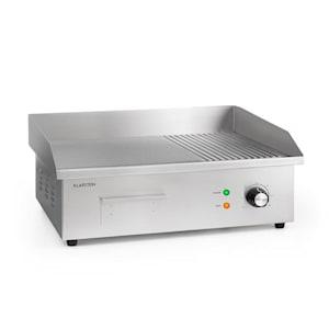 Grillmeile 3000GR Pro elektrische bbq 3000W 54,5x35cm glad/geribbeld