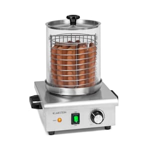 Pro Wurstfabrik 450 Hot Dog Maker 450W 5L 30-100°C Vetro Acciaio Inox