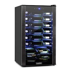 Klarstein Vinomatica vinkylskåp 95l touch-panel 85W 4-18°C svart